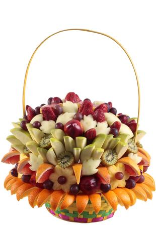 Fruits bouquets of flowers. Soft focus 版權商用圖片