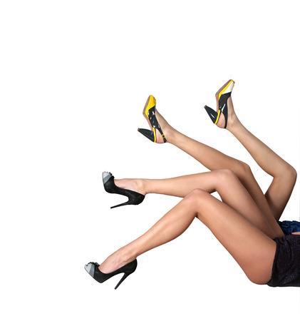 Beautiful legs 版權商用圖片
