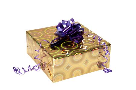 Gift isolated on white background 版權商用圖片