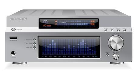 Hi-Fi Reciever or Amplifier Vector