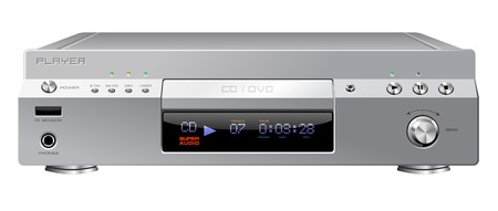 dvdr: CD or DVD player