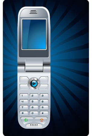 Mobile Phone Stock Vector - 3352412