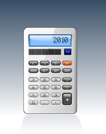 profit and loss: Classic Calculator Vettoriali