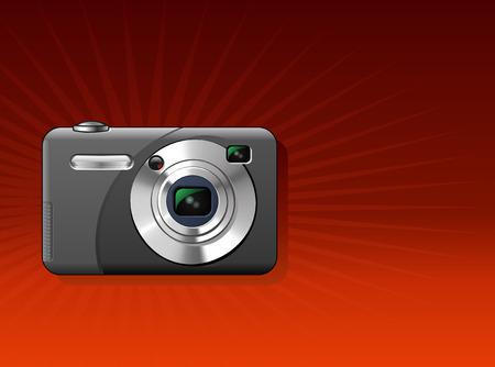 Foto camera Stock Illustratie