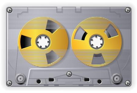 Audio Cassette Иллюстрация