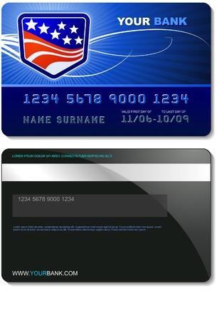 신용 카드 템플릿