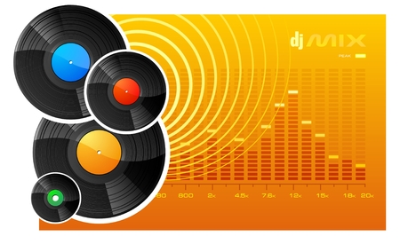 DJ Mix Stock Vector - 3438216