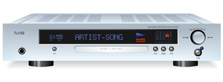 dvdr: Hi-Fi DVD or CD Player Illustration