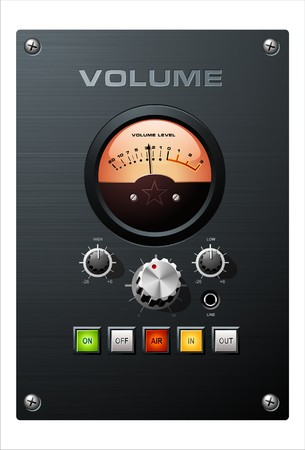 panel: Volume control Illustration