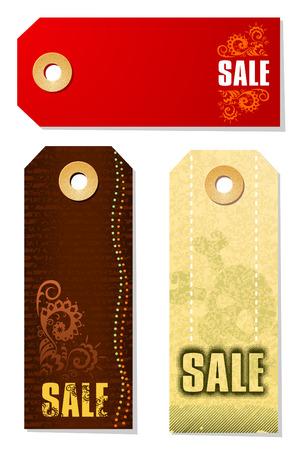 Sale Tags Illustration