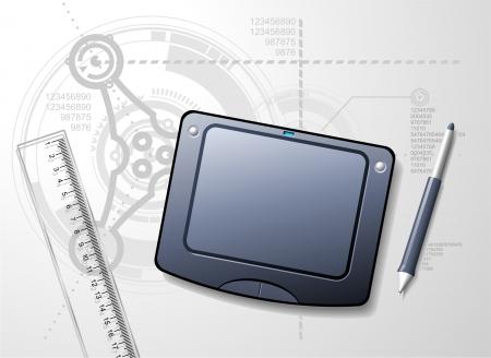 Designers Desktop Illustration