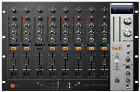 Acht Channel Sound Mixer