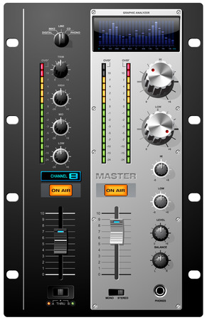 audio mixer: Record Studio Controls