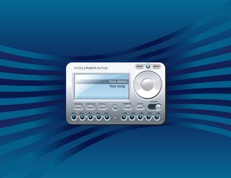 Sattelite Radio Receiver Stock Vector - 3496272
