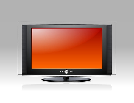 Plasma TV Stock Vector - 3496303