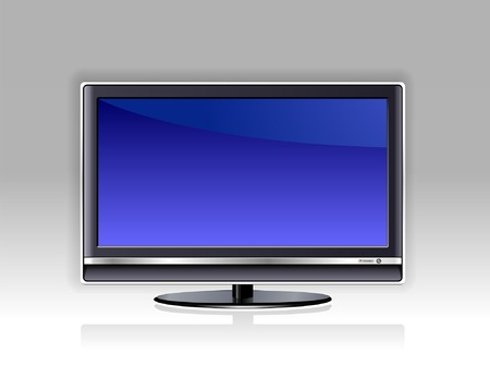 receiver: Plasma TV Illustration