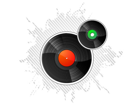 disk jockey: Vinyl Records