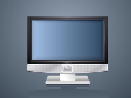 Plasma TV Stock Vector - 3519043