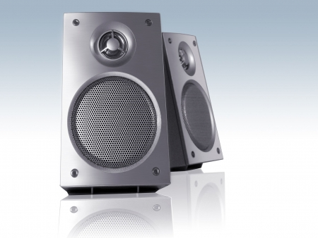 speaker grill: Desktop speakers