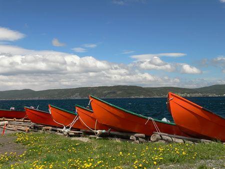 Fishing boats Stock Photo - 3519058