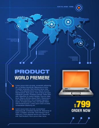 Produkt-Präsentation Standard-Bild - 4250184