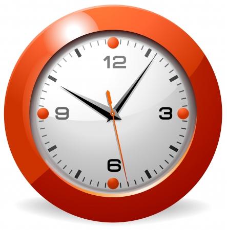 Office Clock Stock Vector - 4423540