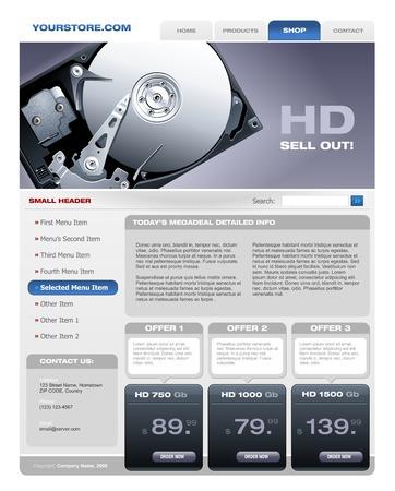 disco duro: Folleto de promoci�n del disco duro