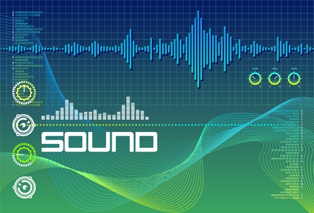 Sound Lab Seagreen Illustration