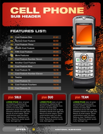 Cell Phone Brochure