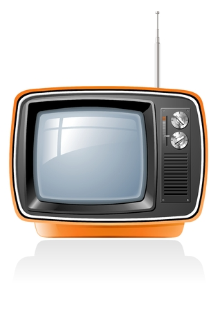 Retro TV Stock Vector - 5350629