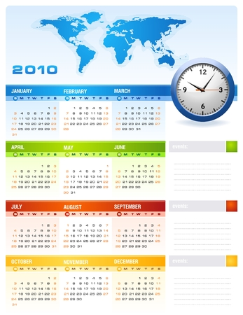diary: 2010 Calendar