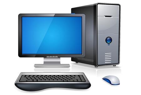 modern office: Computer