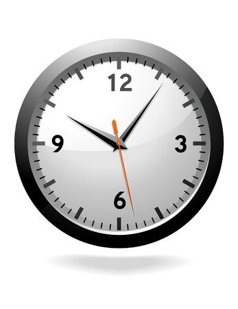 Black Clock Stock Vector - 6787156