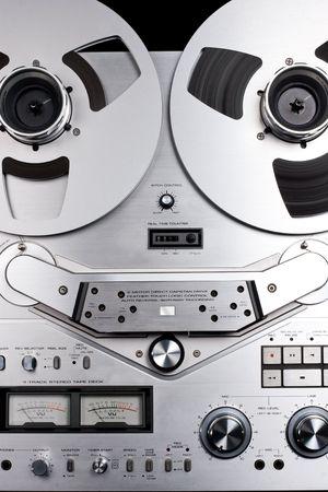 grabadora: Carretes