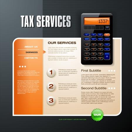 Tax Services Illustration