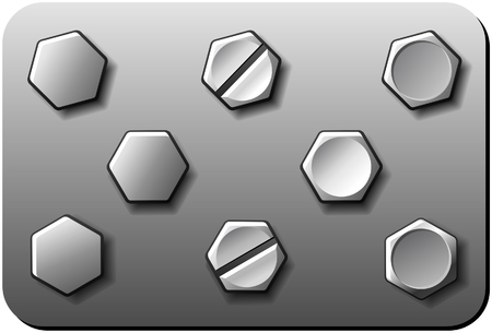 titanium: Bolts Illustration