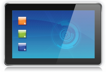 Touchpad Computer or Tablet PC
