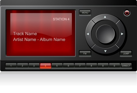 radio station: Satellite Radio Receiver