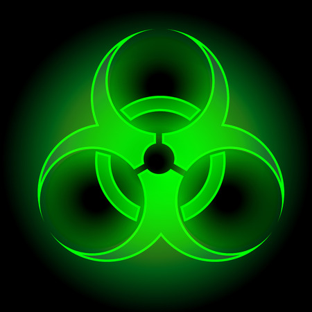 biohazard symbol: Biohazard sign