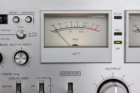 Analog controls dashboard