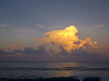 Pacific Dawn near Easter Island