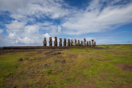 easter island: Easter Island Statues