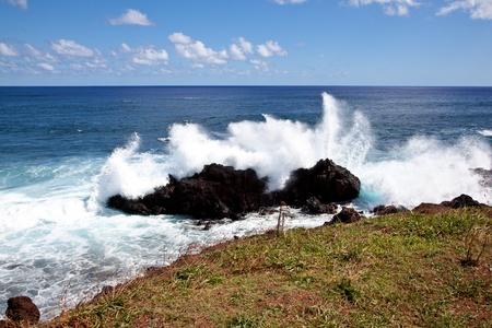 Easter Island Coastline