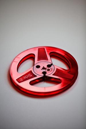 audio: Red Plastic Audio Reel