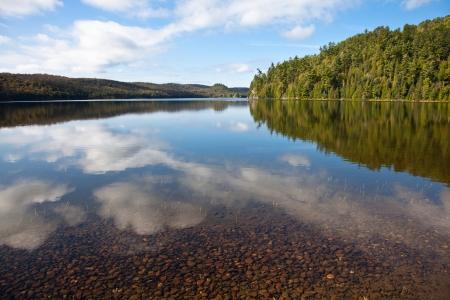 Carpenter Lake clear water vista Stock Photo - 10758689