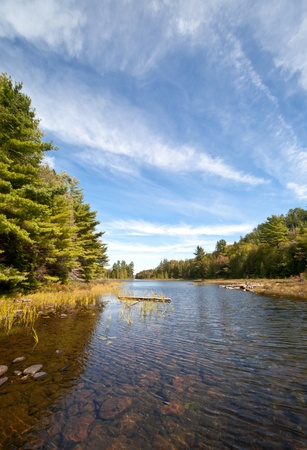 Carpenter Lake clear water vista Stock Photo - 10758617