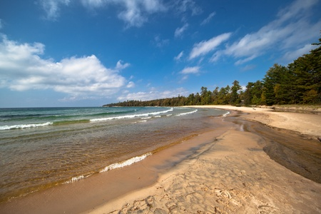 katherine: Lake Superior Sandy Beach Katherine Cove
