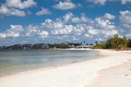 Florida coast sandy beach