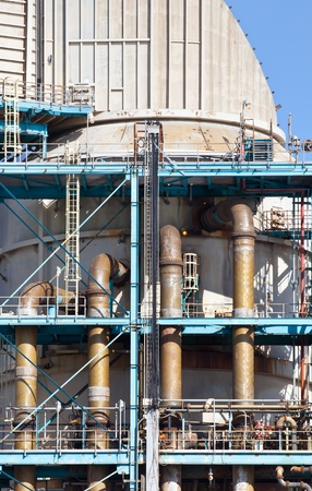 catalytic: Industrial power plant closeup detail