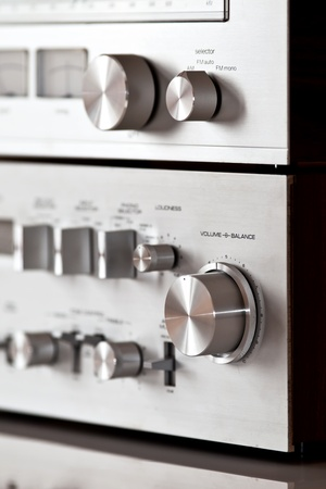 Analog Stereo Volume Knob Control photo
